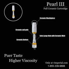Pear  IIIl Absolute Integrated Ceramic Oil Atomizer with FULL CYCLE AIRFLOW (2.0mm/1.0ml)