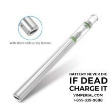 Crystal Oil Disposable Vape Pen 1.2mm Intake Hole in Rechargeable Version